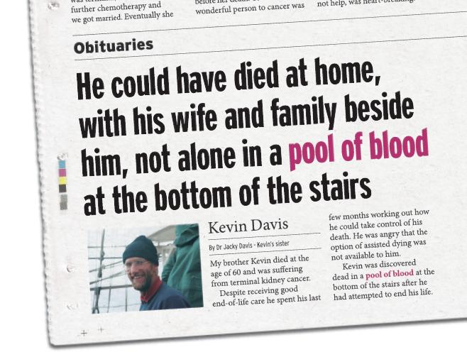 Kevin Davis Obituary