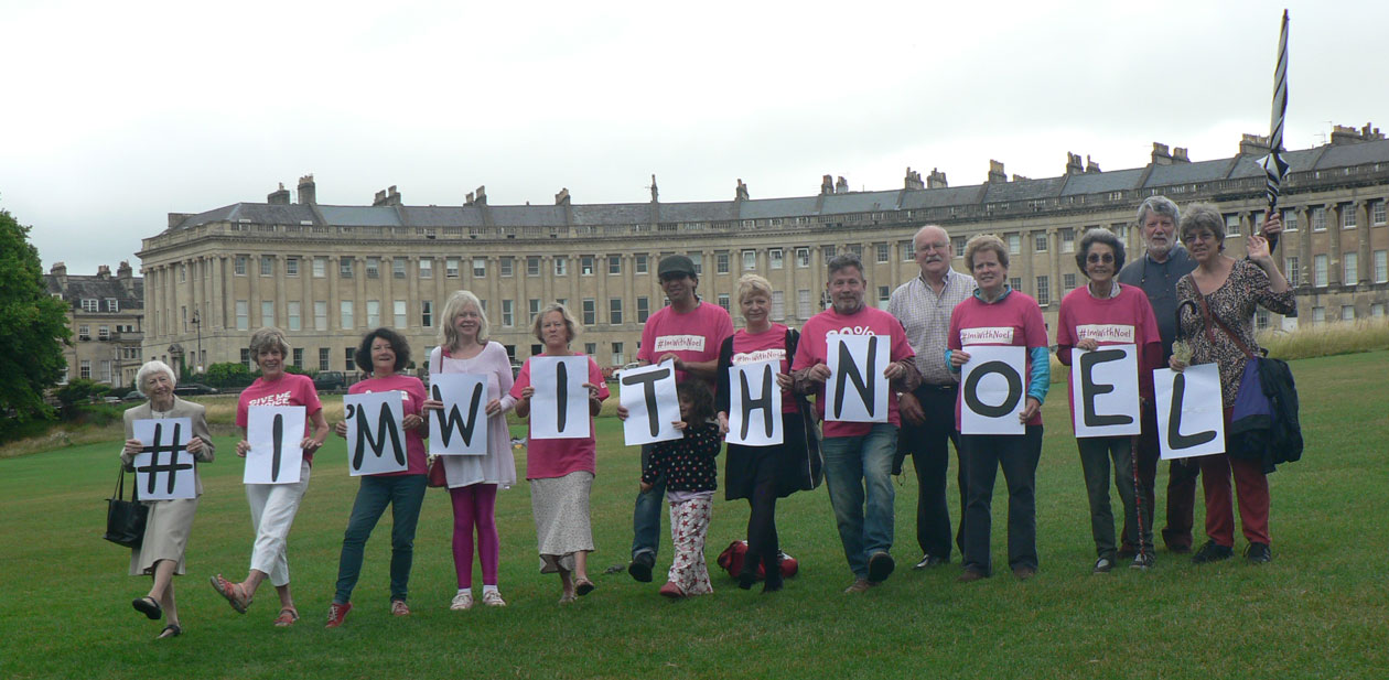 Bath local group supporting Noel Conway
